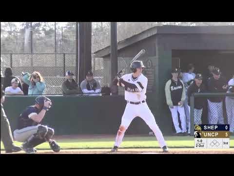 Braves Highlights: UNCP Baseball vs Shepherd, 2/1/19