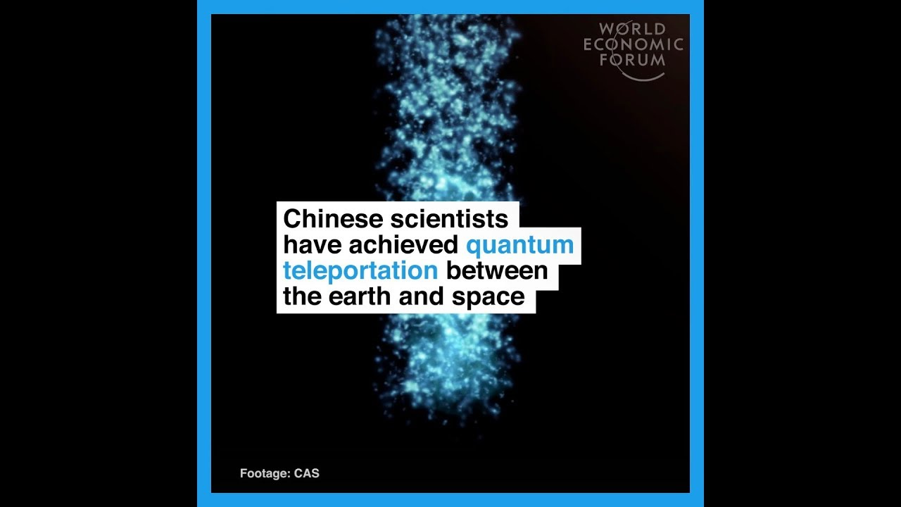 Chinese scientists have achieved quantum teleportation between earth and space