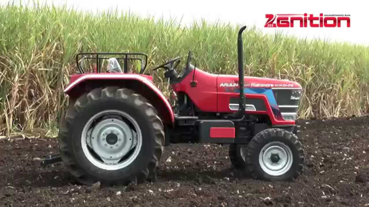 Mahindra arjun novo tractor driven special feature zeegnition youtube