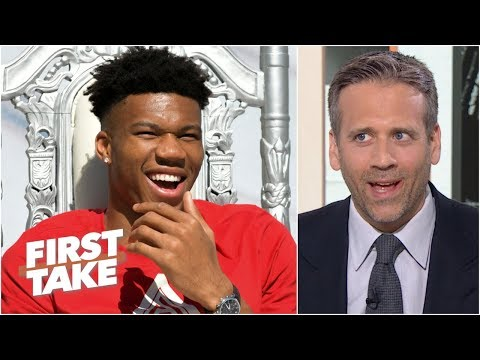 I won't call Giannis 'MVP' until he proves it in the playoffs - Max Kellerman | First Take