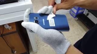 Come Sostituire Vetro Samsung Galaxy S6 EDGE G925F TeknoLab tramite pellicola OCA