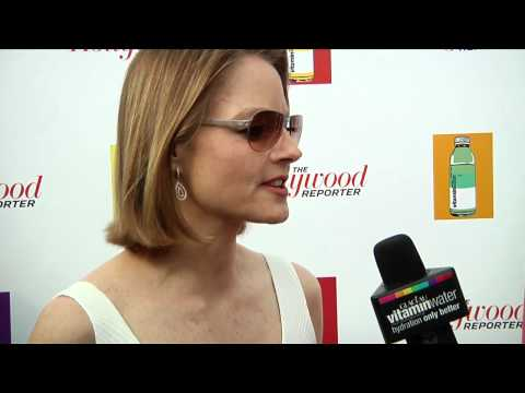 jodie foster interview at the hollywood reporter party! by vitaminwater canada
