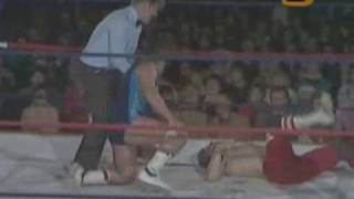 World Of Sport - Dynamite Kid vs Mark Rollerball Rocco pt.2