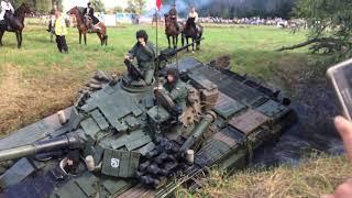 Czołg Zakopał Się W Rzece Ossow 2019