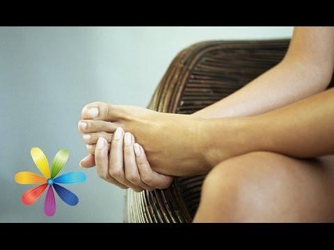 Как убрать отек ног