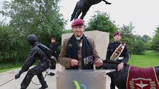 Parachute Regiment memorial Service June 2020