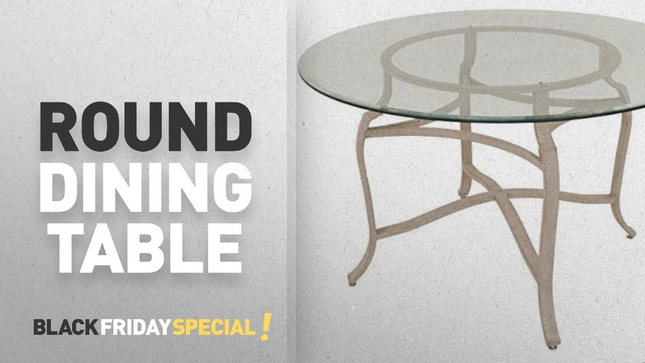 Impacterra Bermerhaven Round Dining Table And More Amazon Black