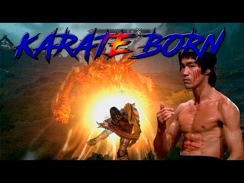 Karate Born - Skyrim Mods - Martial Arts, The Dance Of Death And Jump Animations