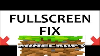 *PC* How to fix full screen in Minecraft Story Mode