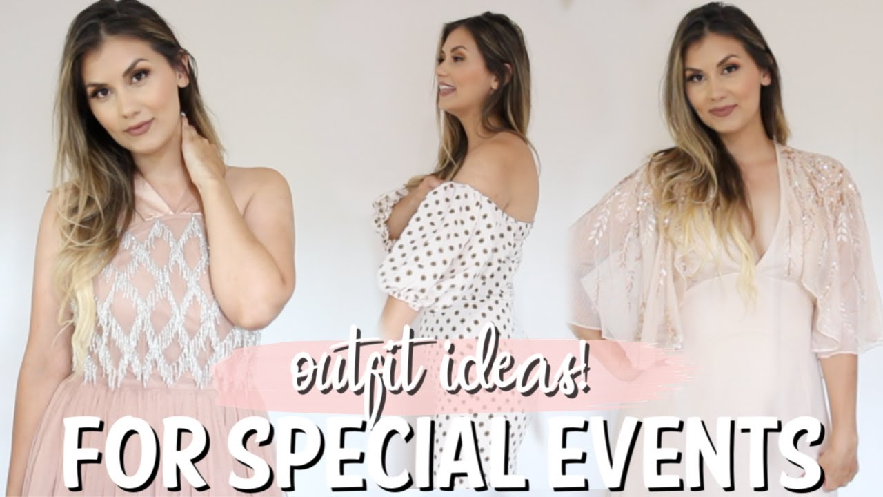 [VIDEO] - NIGHT OUT/FORMAL OCCASION OUTFITS TRY ON HAUL | ASOS HAUL CLOTHING HAUL 1