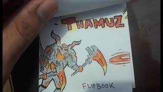 NEW HERO! THAMUZ :D (FLIPBOOK ANIMATION) MOBILE LEGENDS