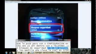 TUTORIAL DE COMO PONER CLAVE A TU CELULAR NOKIA C3, y algunos nokias!!(VIDEO ORIGINAL Y REAL)