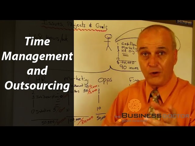 Time Management and Outsourcing - The Business Doctor