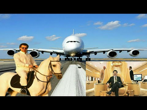 Prince AlWaleed Lifestyle|Plane|2018|Bin Talal|A380|Private Jet|Luxury |