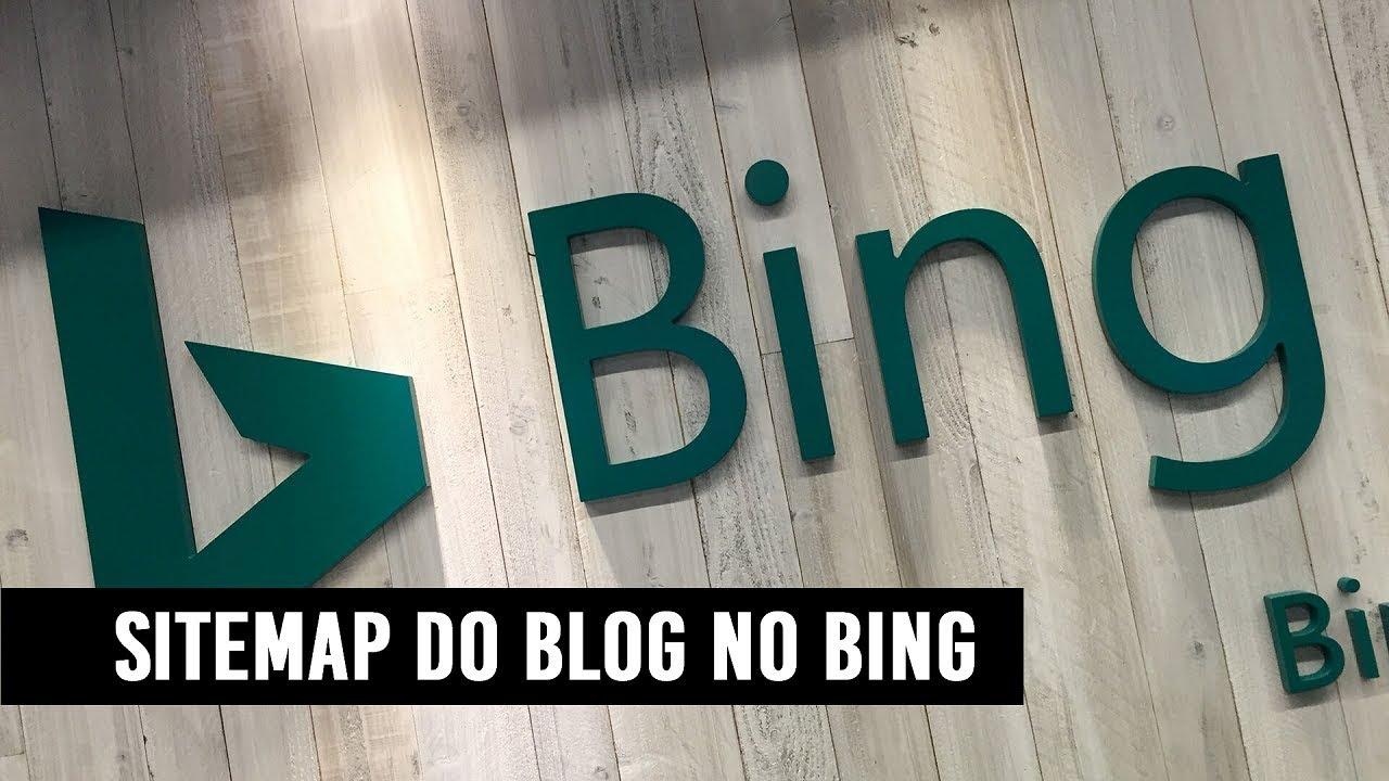 Como enviar Sitemap do Blog pro Bing - YouTube