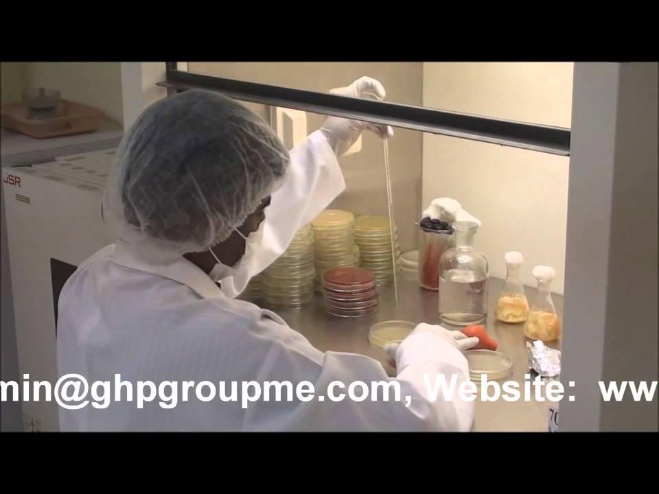 GHP Food Testing - Microbiology Laboratory