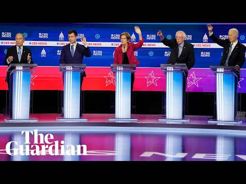 Sanders and Bloomberg come under attack in Democratic debate