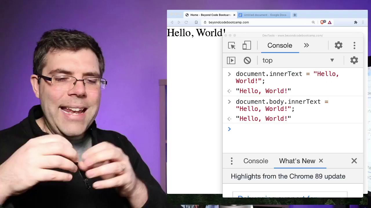 Write your first Line of Code, Right Now - Beyond Code Live 000
