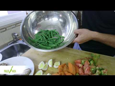 "Ahi Tuna ""Nicoise"" - Paleo Cooking with Nick Massie"