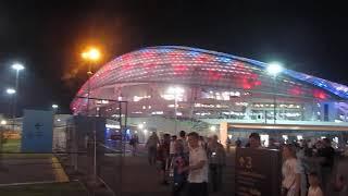 Фишт Арена После матча Португалия Уругвай 1 8 финала ЧМ Сочи FIFA World Cup 2018 06 30 Sochi