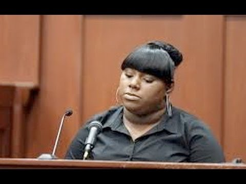 Trayvon's Girlfriend Takes The Stand