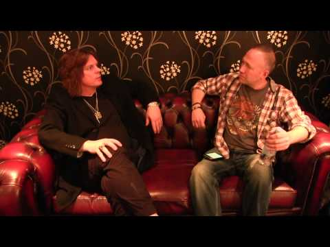 John Leven of Europe interview with Rock 'N' Load, O2 Academy Leeds, 8th March 2015