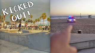 COPS KICKED US OUT OF SKATEPARK!!