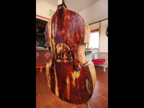Double Bass Reconstruction Process Made By Gabriel Szakál