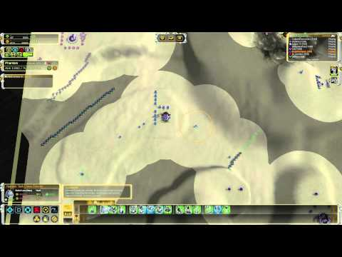 Supreme Commander FAF Multiplayer Gameplay 8 Player FFA - Deserts of Missiles