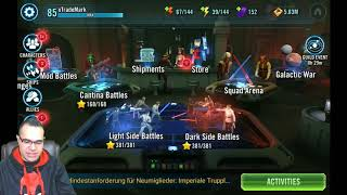 Imparting Some Final SWGOH Info & Video Game Addiction Discord Server