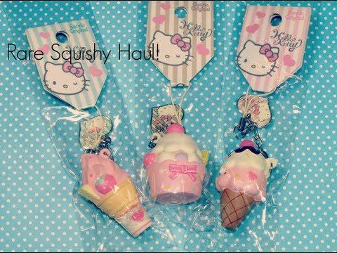 Squishy Haul Blog : Super Rare Hello Kitty Squishy Haul! - YouTube