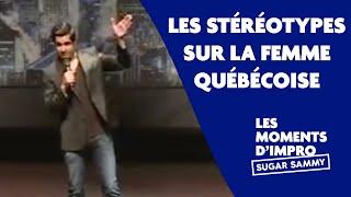 Humour: Sugar Sammy et les stéréotypes sur la femme québécoise