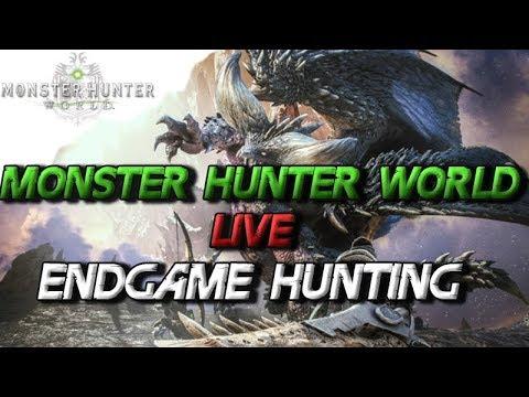 Monster Hunter World - Livestream Endgame Hunting JR 270 - MHW