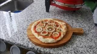 La pizza nel fornetto nuovo!