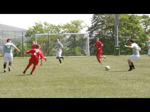 u16 Celtic v Morton - Theo Archibald goal - 7-0 - 200713