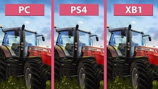 Farming Simulator 2017 – PC vs. PS4 vs. Xbox One Graphics Comparison