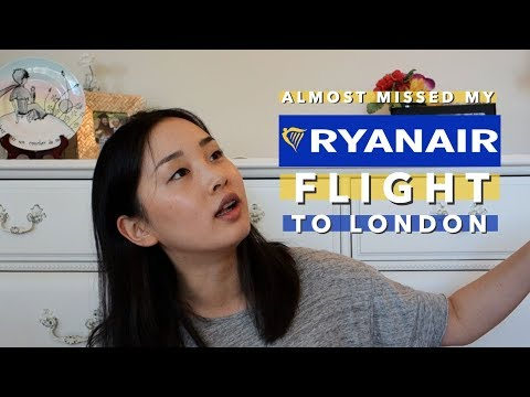 Almost Missing a Ryanair Flight + €50 Fee 💸 | Travel Storytime