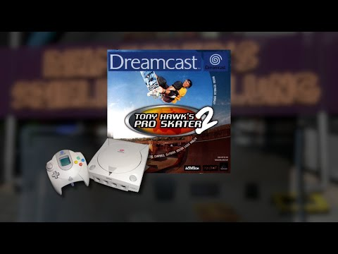 Gameplay : Tony Hawk Pro Skater 2 [Dreamcast]