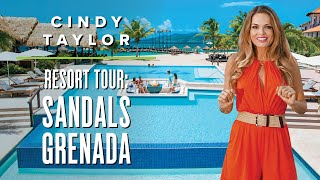 Sandals Grenada Tour ft. Cindy Taylor | Grenada Luxury All-Inclusive Resort