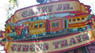 Disneyland Casey Jr Circus Train ride soundtrack