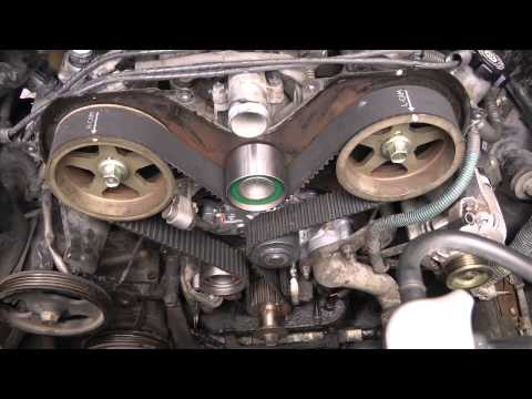 timing belt replacement how to toyota 4runner 30 3vze part 2 toyota v6 5vzfe timing belt replacement diy part 2