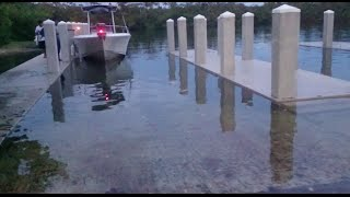 Flooded Boat Ramp, FLORIDA IS GOING UNDERWATER!!!