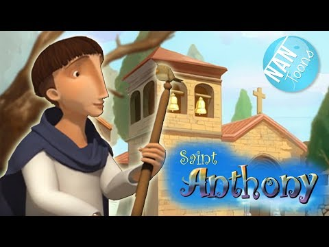 SAINT ANTHONY Cartoon For Kids | Full Movie For Children | Animated Movie | Catholic Saints