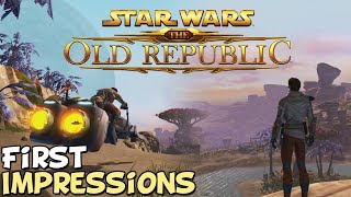"SWTOR 2020 First Impressions ""Is It Worth Playing?"""