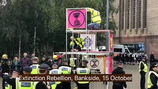 Extinction Rebellion, Tate Modern, Bankside