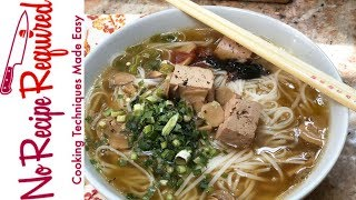 Review of Take Out Kit's Vietnamese Pho Noodle Soup - NoRecipeRequired