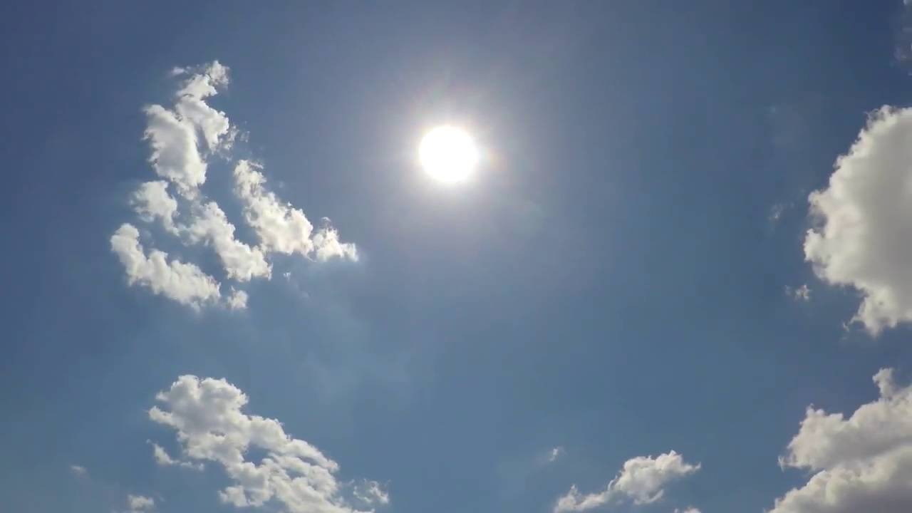 солнце и небо картинка