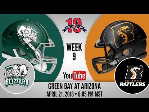 Week 9 | Green Bay Blizzard at Arizona Rattlers