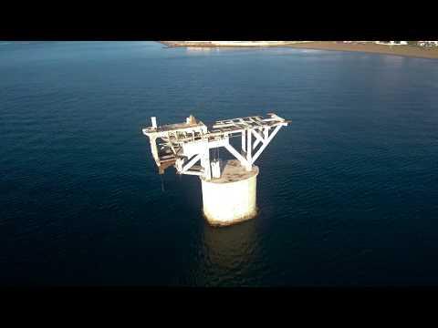 Torre del Cable en Marbella desde drone 4k (Orbit Xiaomi mi midrone)