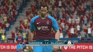 Trabzonspor – Galatasaray - Pes 2017 Türkçe Spiker